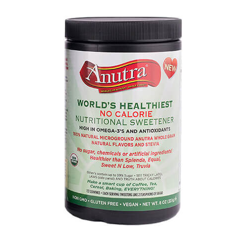 anutra world's healthiest no calorie nutritional sweetener