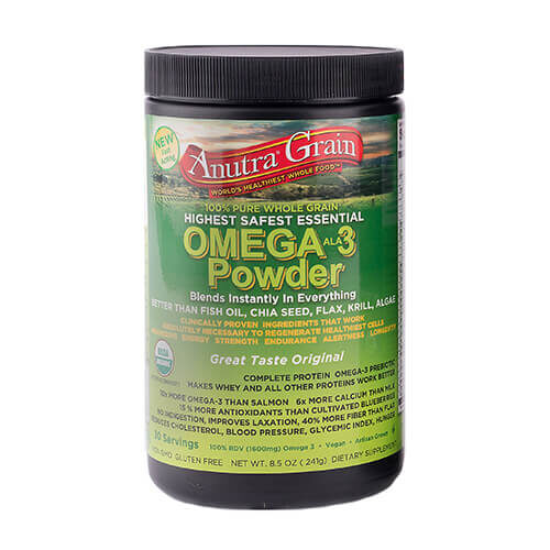 Anutra grain omega 3 powder original