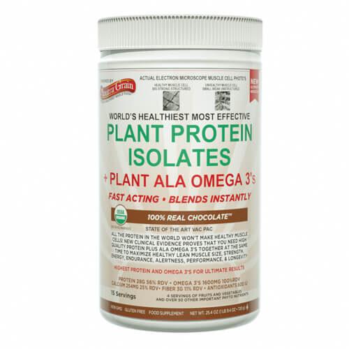 anutra plant protein isolate plant ala omega 3 chocolate