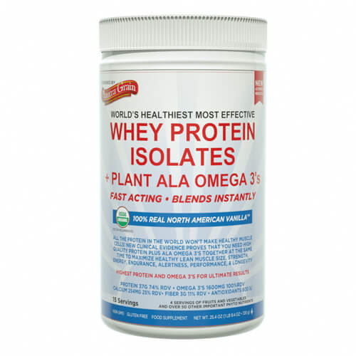 anutra whey protein isolates vanilla