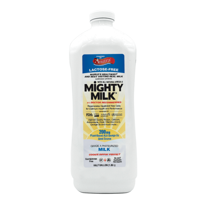 Might Milk Lactose Free Milk