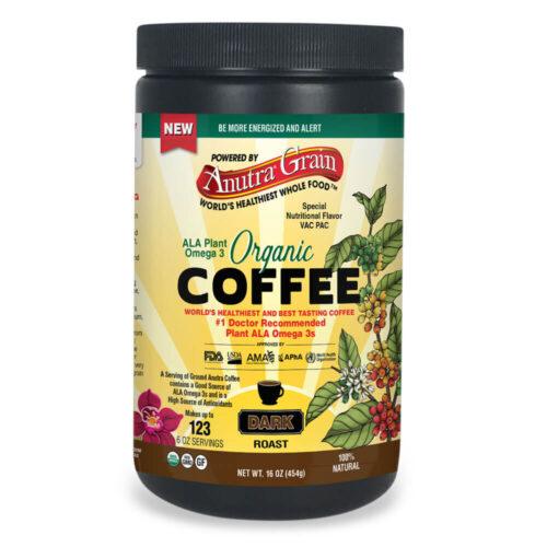 Anutra ALA Plant Omega 3 Organic Coffee